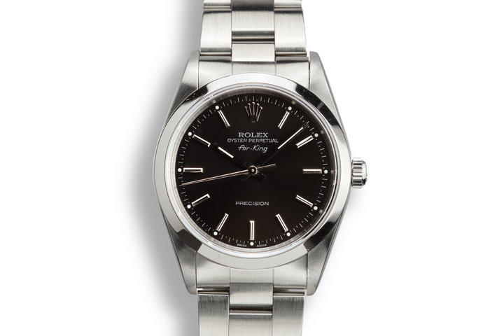1995 Rolex Air-King 14000 Black Dial photo