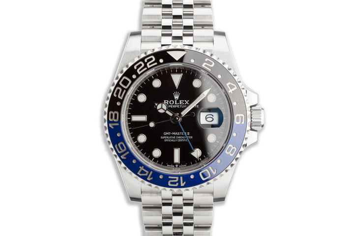 """2019 Rolex GMT-Master II 126710BLNR """"Batman"""" with Box and Card photo"""