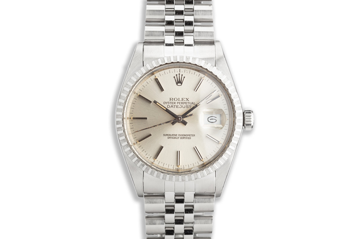 1984 Vintage Rolex DateJust 16030 with Silver Dial photo, #0