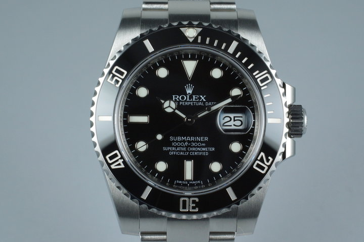 2010 Rolex Submariner 116610 with Box and Papers photo
