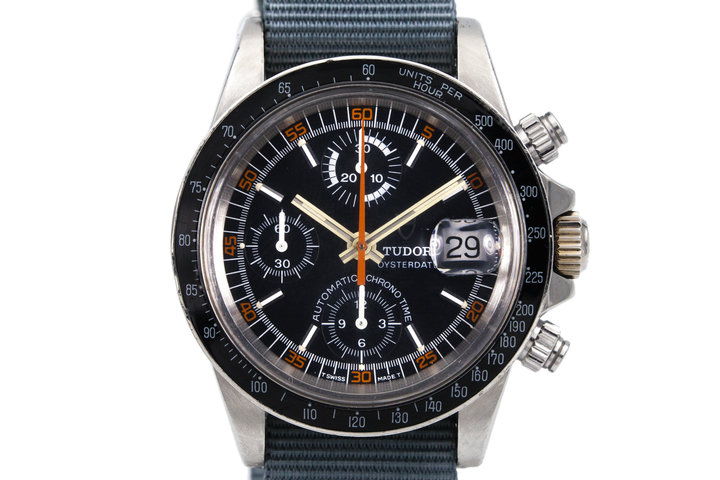 1980 Tudor Chronograph Big Block 94200 3 Register Monte Carlo photo