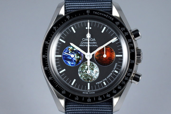 2004 Omega Speedmaster 3577.50 'Moon to Mars' photo