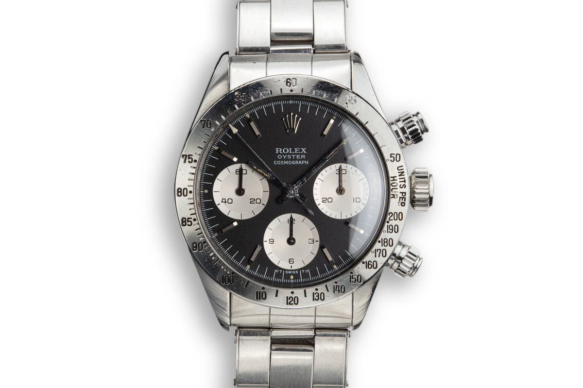 1973 Rolex Daytona 6265 with Black Sigma Dial photo, #0