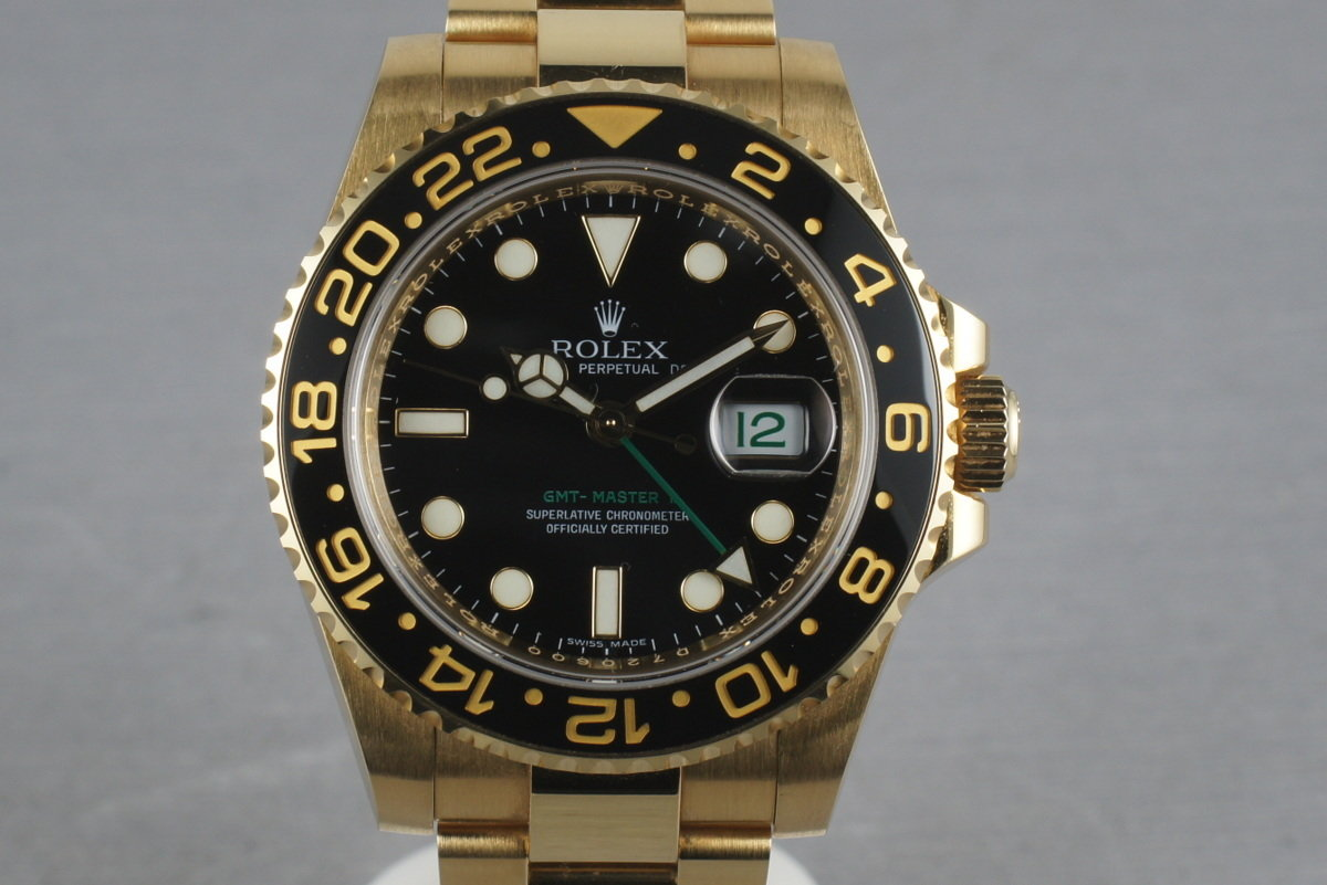 Rolex Ceramic GMT 18K 116718 with box and papers photo, #0