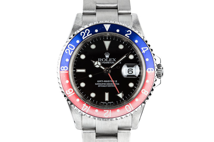 2003 Rolex GMT-Master II 16710 with Box and Papers photo