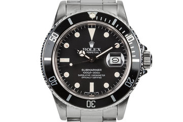 1982 Rolex Submariner 16800 with Matte Dial photo