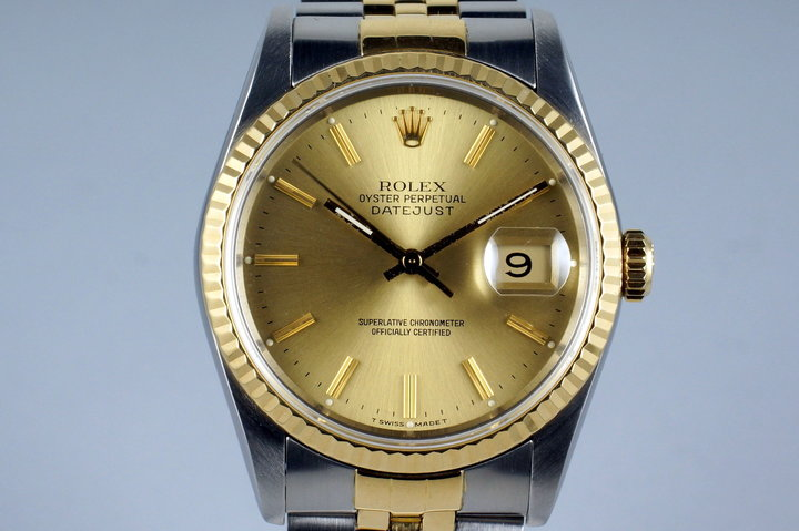 1989 Rolex Two Tone DateJust 16233 photo