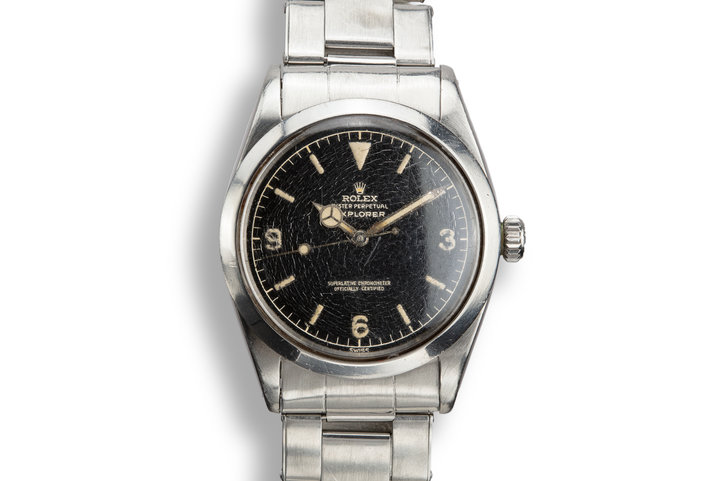 1960 Rolex Explorer 1016 Gilt Dial with Box and Papers photo