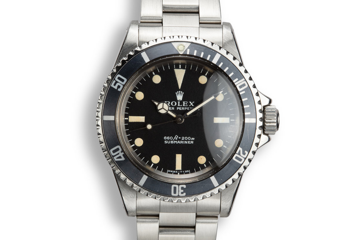 1971 Rolex Submariner 5513 with Box and Papers photo, #0