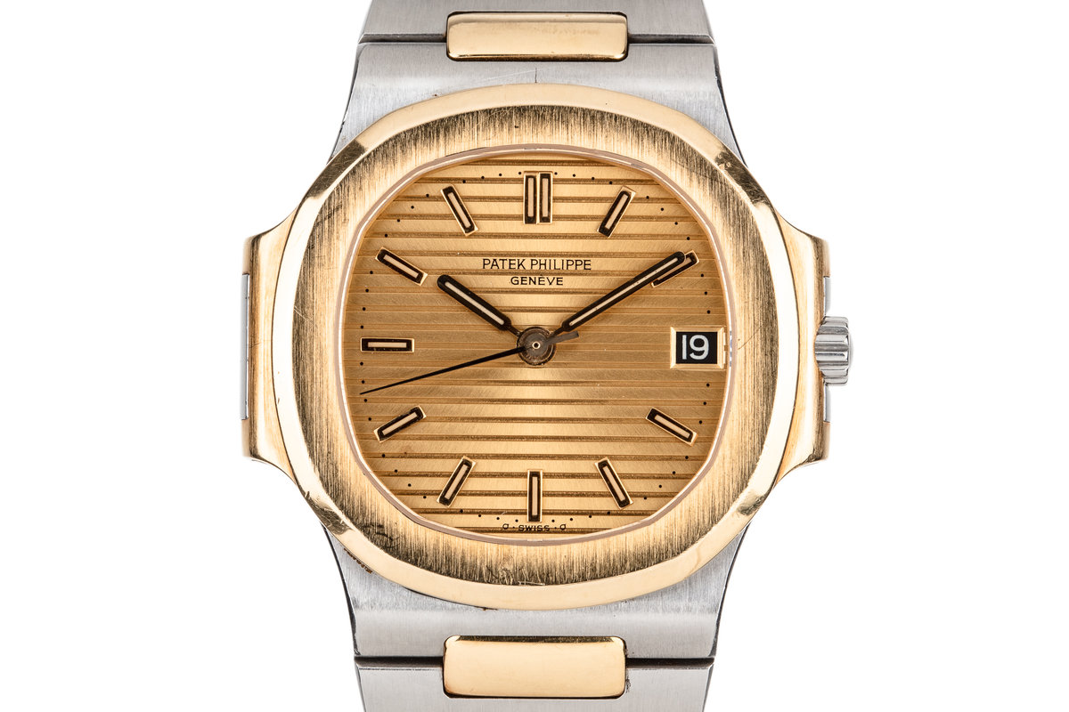Patek Philippe Two Tone Nautilus 3800/001 with Papers photo, #0
