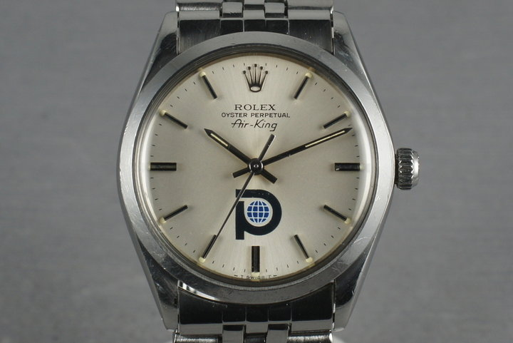 1979 Rolex Air-King 5500 with Pool Intairdril Logo photo