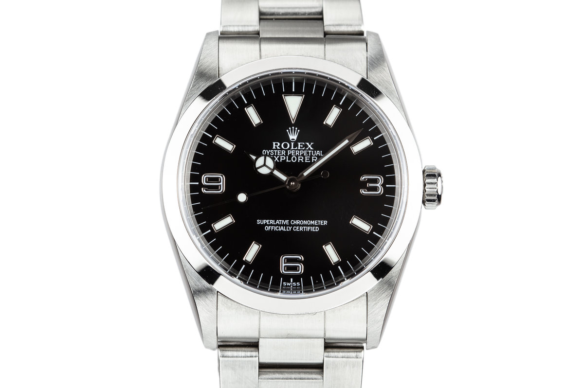 1999 Rolex Explorer 14270 SWISS Only Dial with Box and Papers photo, #0