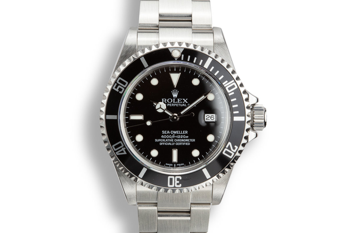 2006 Rolex Sea-Dweller 16600 photo, #0
