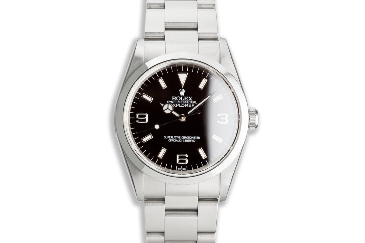 "1997 Rolex Explorer 14270 ""Swiss Only"" Dial photo, #0"