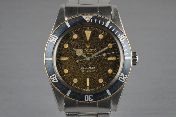 1958 Rolex Submariner 5508 Tropical Dial photo