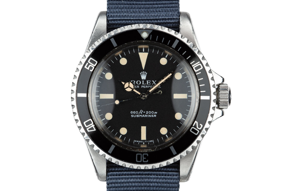 1970 Rolex Submariner 5513 Serif Dial photo, #0