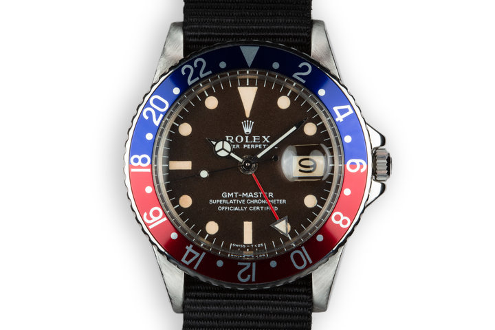 1967 Rolex GMT-Master 1675 Tropical brown Dial photo