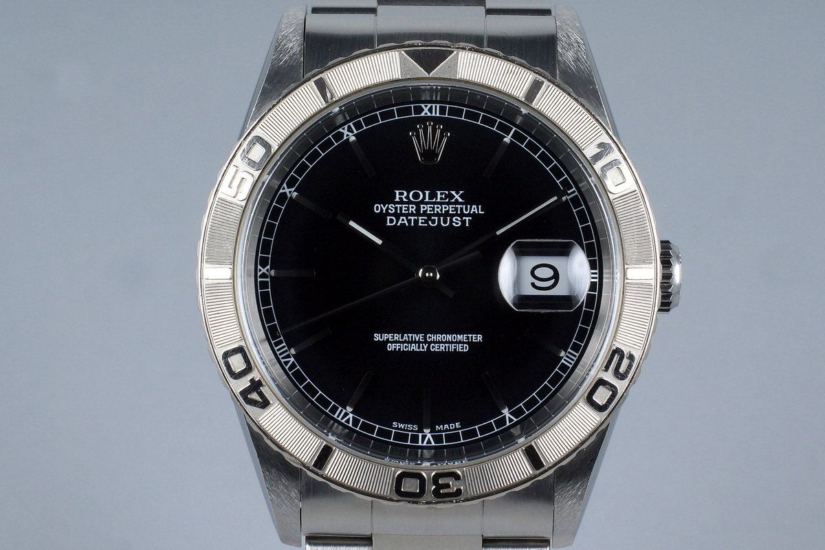 2002 Rolex DateJust 16264 Thunderbird photo, #0