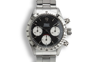 1976 Rolex Daytona 6265 with Black Service Dial photo