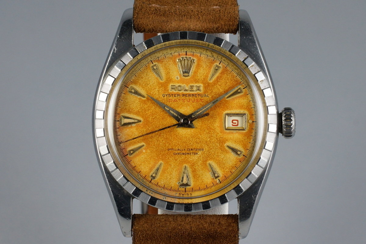 1953 Rolex Datejust 6305 2 with Tropical Dial photo, #0
