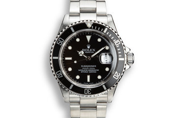 2003 Rolex Submariner 16610T photo