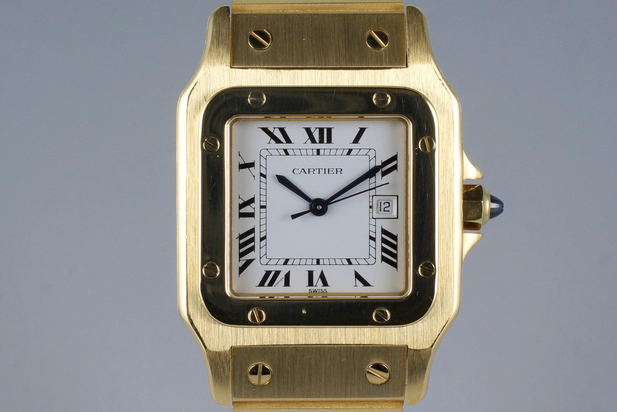 Cartier YG 'Santos or Massif' Automatic with Box photo, #0
