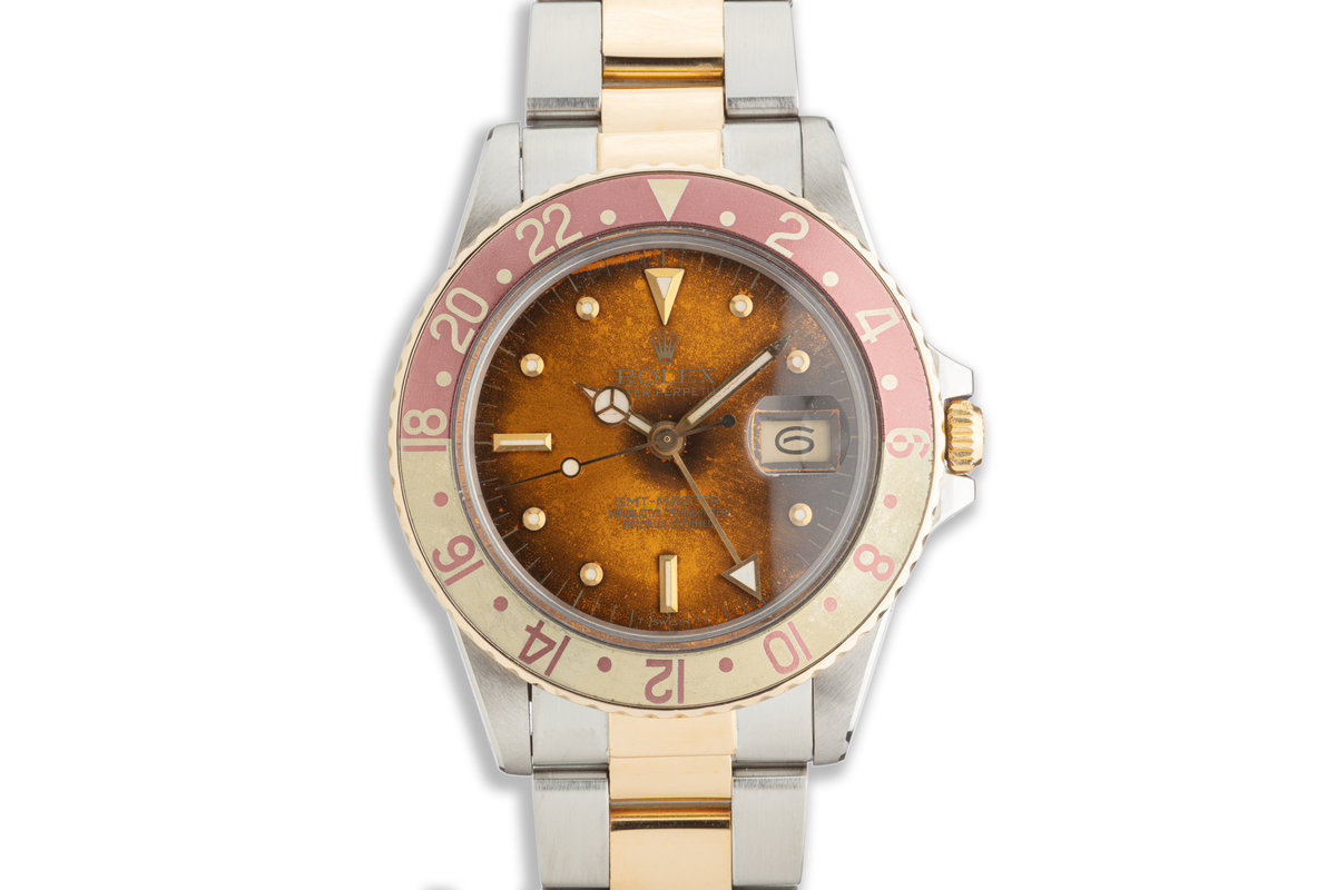 1982 Vintage Rolex GMT-Master 16753 with Tropical Nipple Dial photo, #0