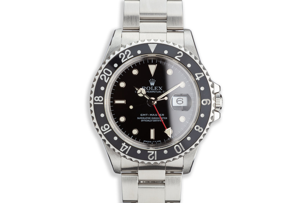 1996 Rolex GMT-Master 16700 with Box and Papers photo, #0