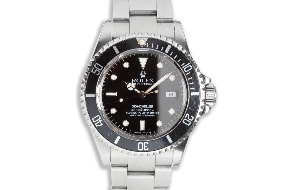 1997 Rolex Sea-Dweller 16600 photo, #0