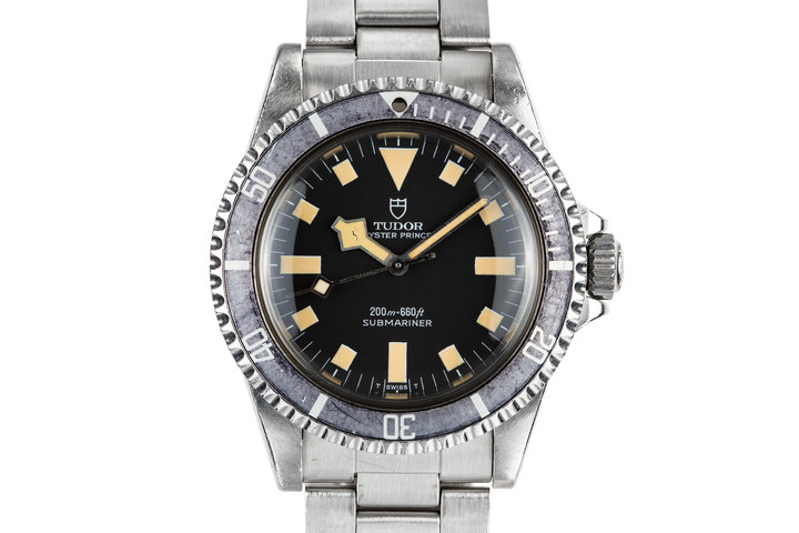 1980 Tudor Snowflake Submariner 94010 Black Dial photo