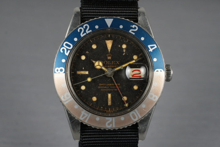 1958 Rolex GMT 6542 with Tropical Dial photo