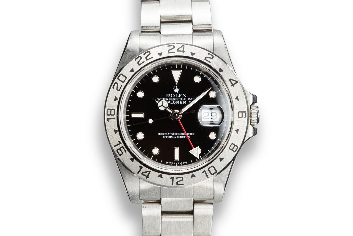 1991 Rolex Explorer II 16570 Black Dial photo, #0