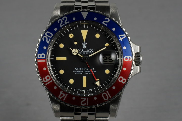 "1977 Rolex GMT 1675 ""Radial Dial"" photo"