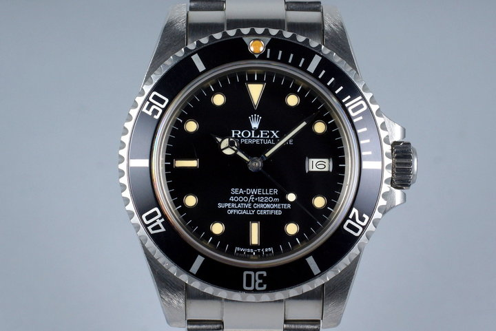 1984 Rolex Sea Dweller 16660 Spider Dial photo