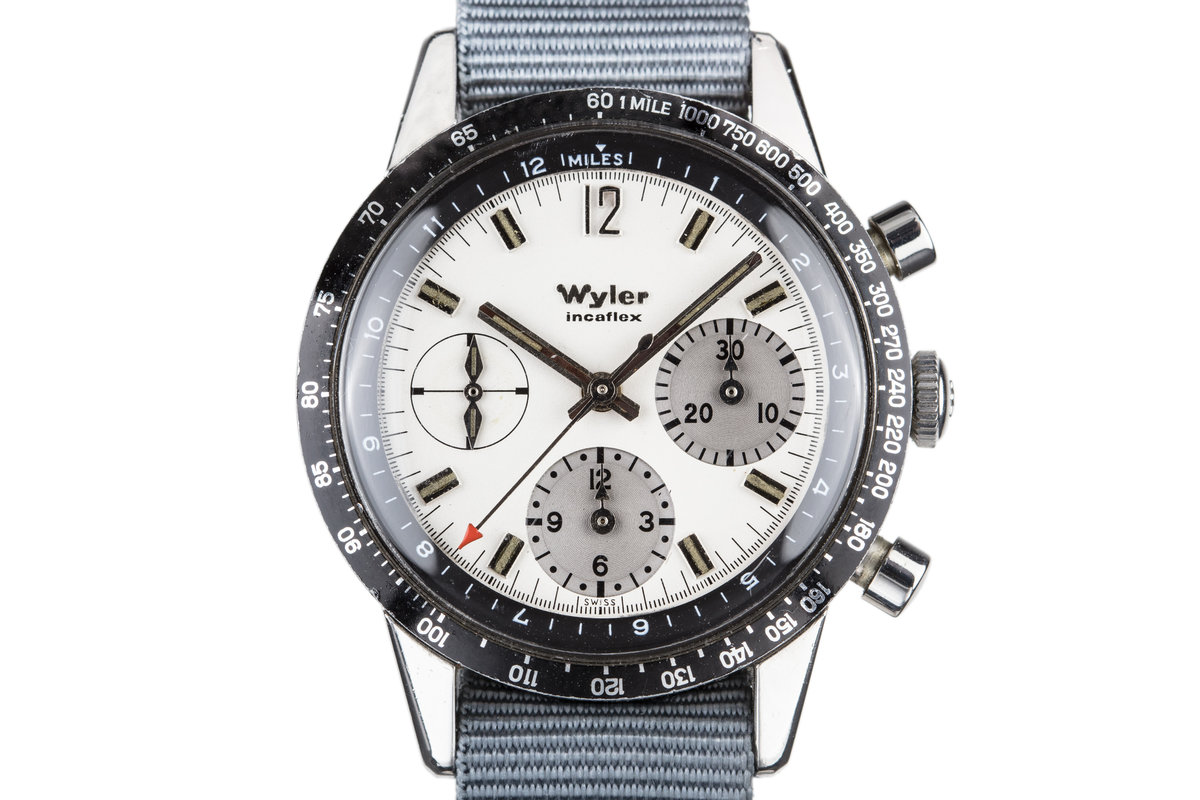 Wyler Incaflex 1502 White Dial photo, #0