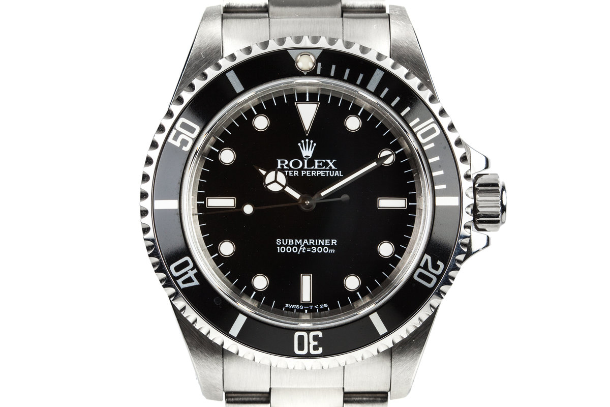 1998 Rolex Submariner 14060 with Box and Papers photo, #0