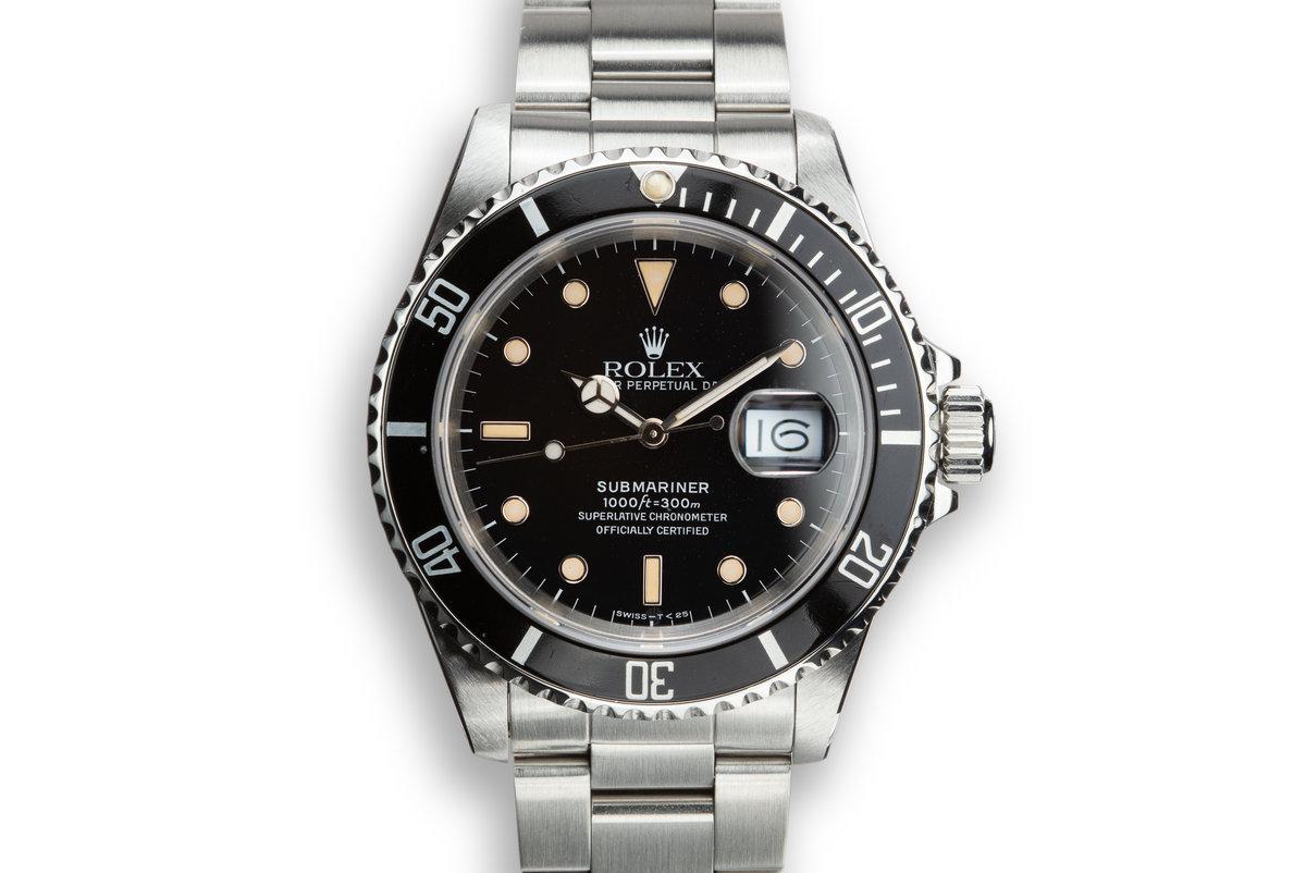 1988 Rolex Submariner 16610 photo, #0