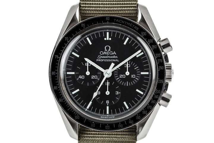 "2002 Omega Speedmaster Professional 3572.50 ""Hesalite Sandwich"" photo"