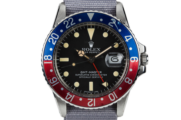 1964 Rolex GMT-Master 1675 with Newer Service Dial photo