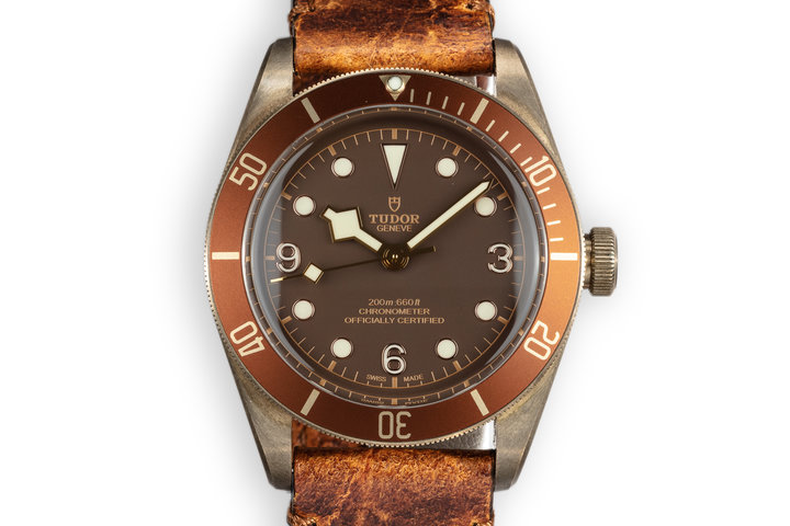 2017 Tudor Black Bay Heritage 79250BM Bronze with Box and Papers photo