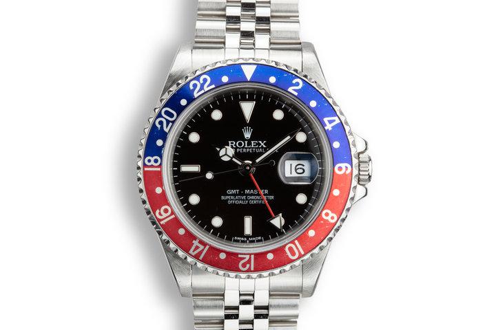"""1990 Rolex GMT-Master 16700 """"Pepsi"""" photo"""