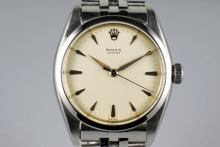 1959 Rolex Oyster 6426 Cream Dial with Box and Papers photo
