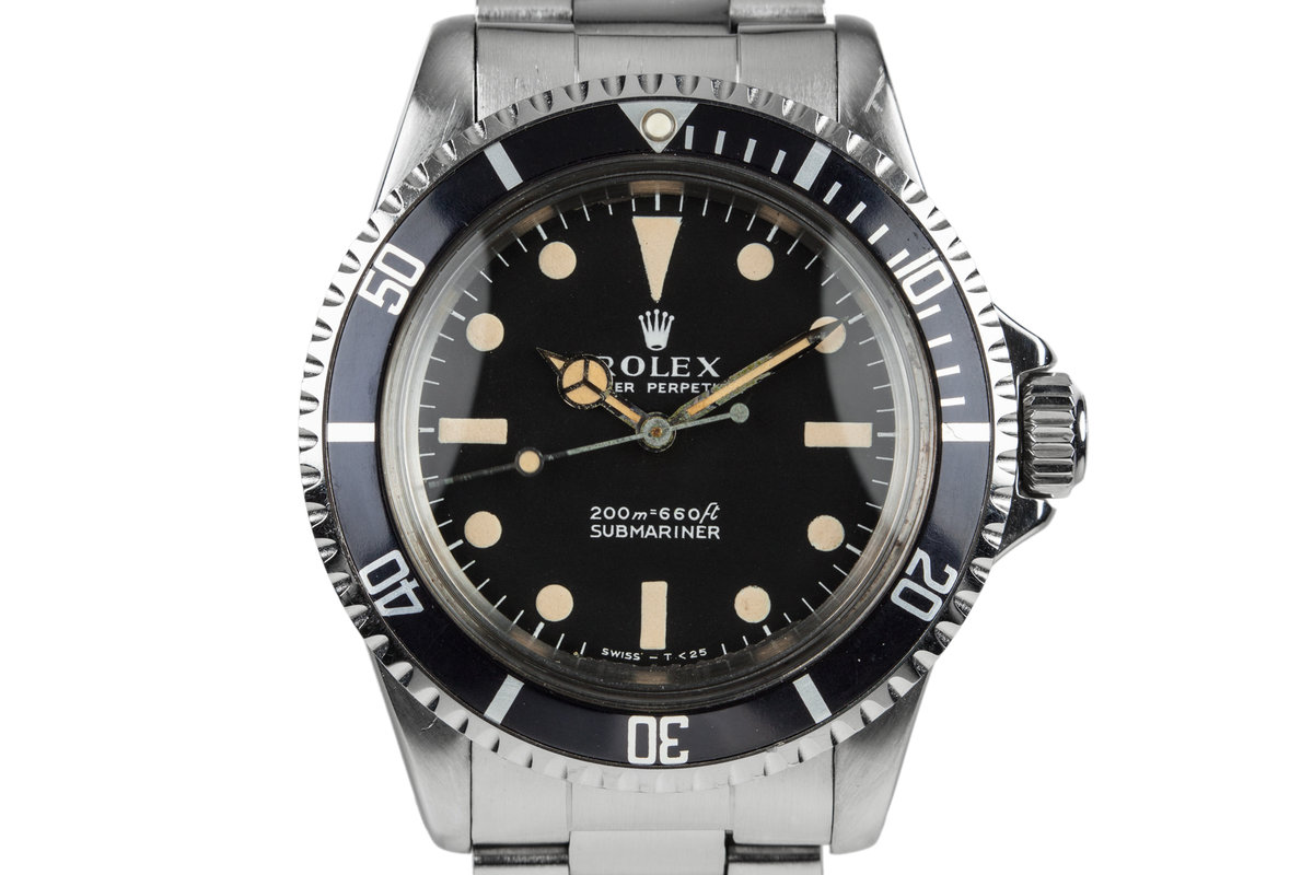 1966 Rolex Submariner 5513 with Meters First Dial photo, #0
