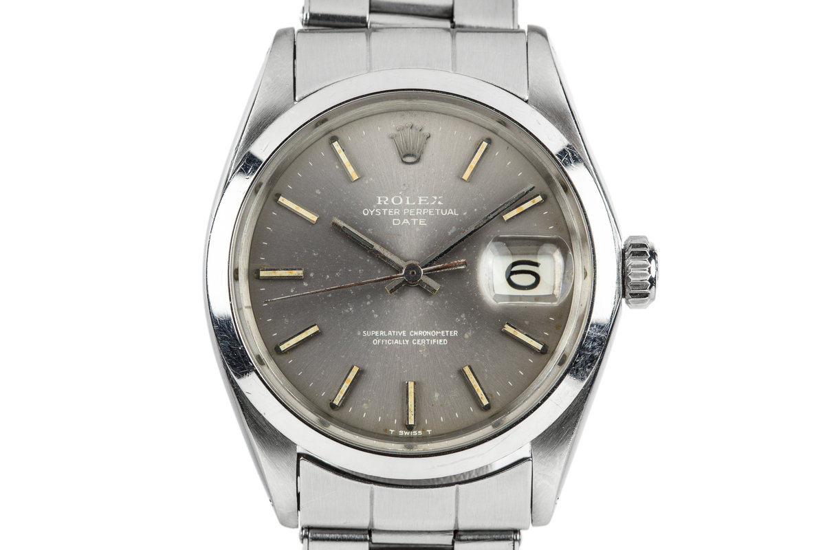 1969 Rolex Date 1500 with Lavender Dial photo, #0
