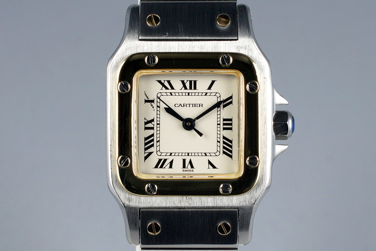 Cartier Ladies Two Tone Santos Automatic 60047 photo, #0