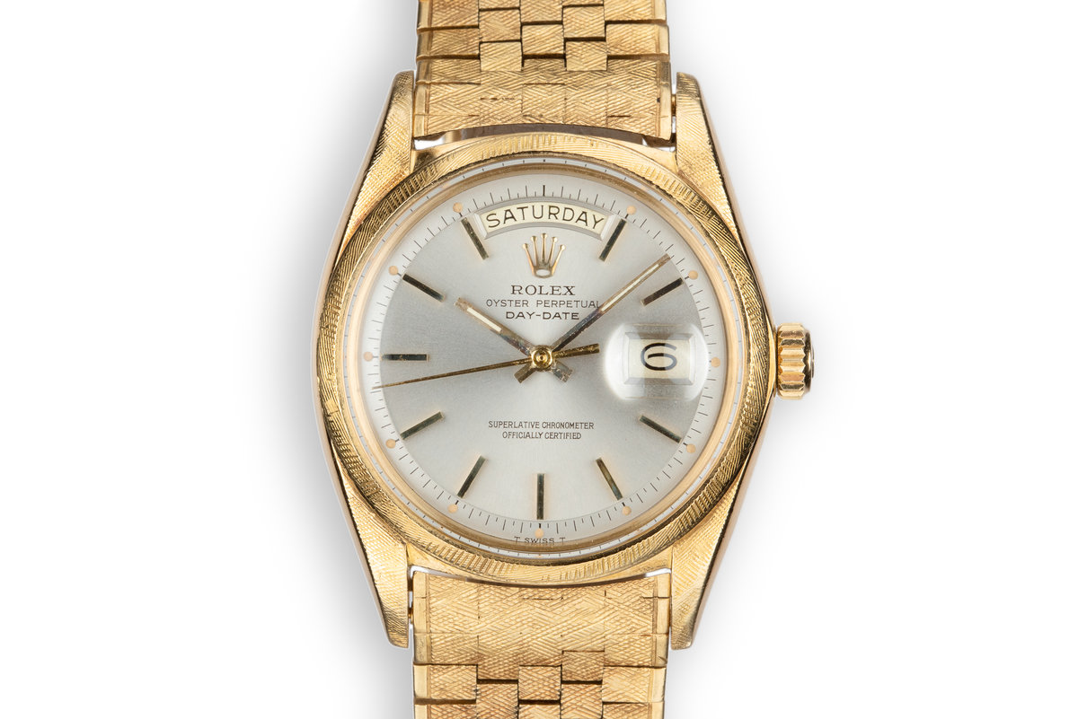 1971 Rolex 18K Day-Date 1806 in Morellis finish with Grey Dial photo, #0