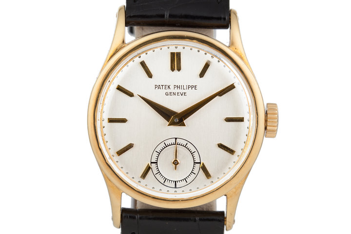 18K YG Patek Philippe 96 photo