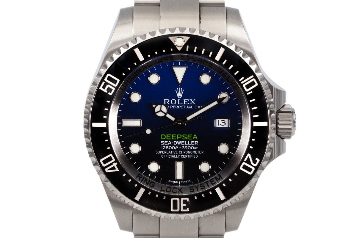 2015 Rolex Deep Sea Dweller 116660 with Box and Papers photo, #0