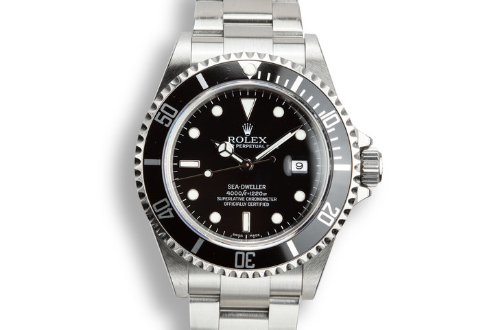2006 Rolex Sea-Dweller 16600 T with Box and Papers photo