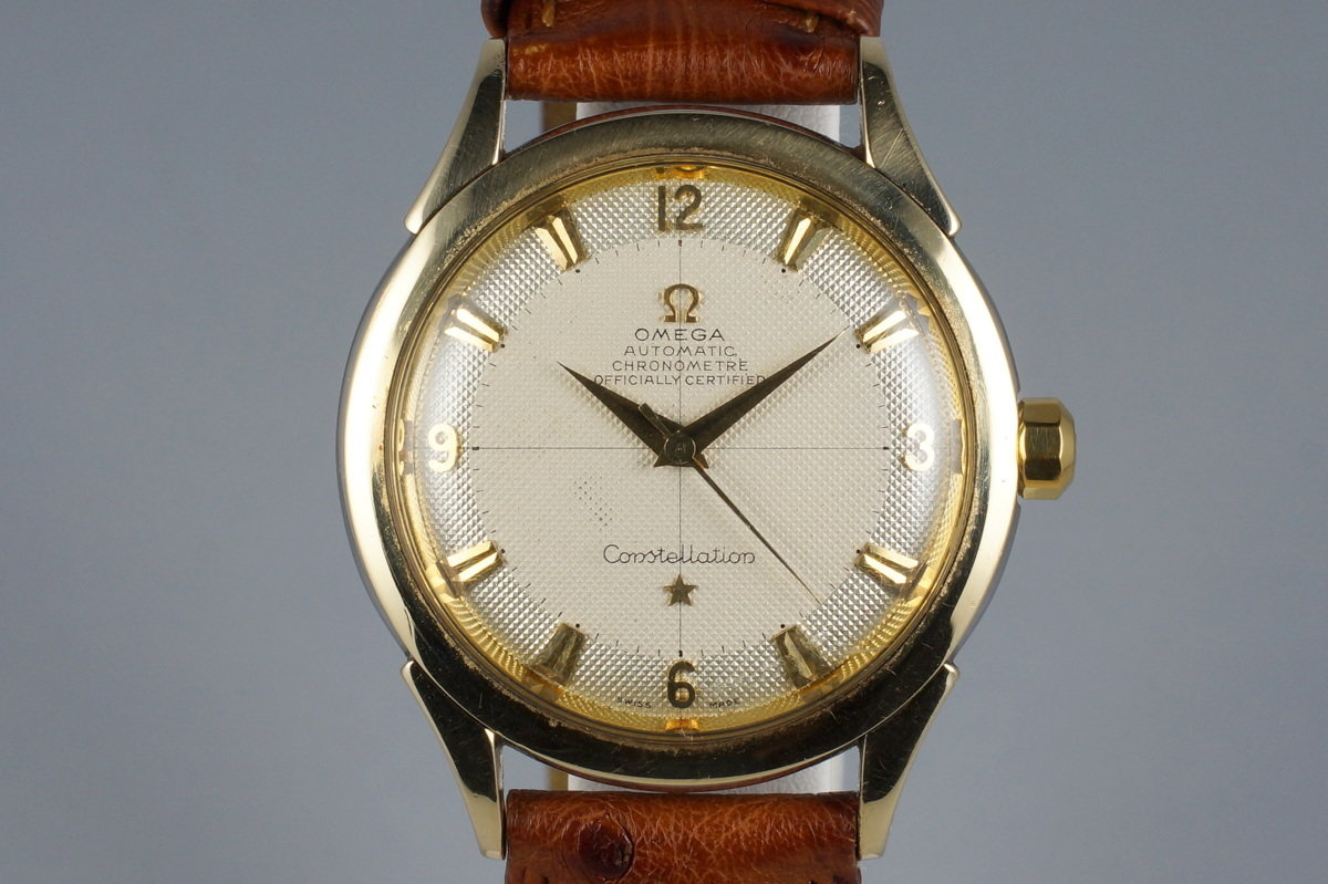 1950's Omega Gold Shell Constellation 2652-5 Calibre 354 photo, #0